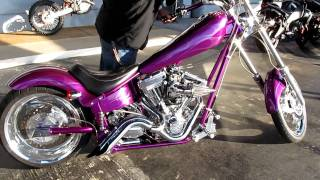 9. 2003 American Iron Horse Texas Chopper sick paint!! Lots of mods.