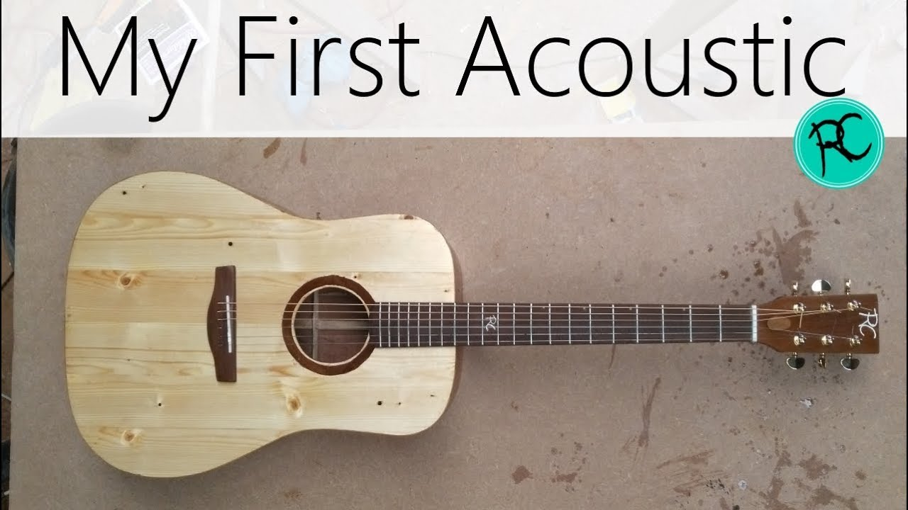 Acoustic guitar from reclaimed wood – 'The Scrapnought'