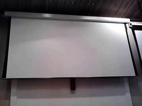 Tela de Projeção 200 polegadas 16:9 Matte White Notecom
