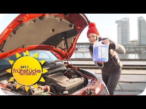 In 100 Sekunden! Wie wird ihr Auto winterfest? | SAT. ...