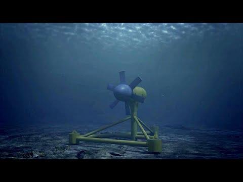 Ηλεκτρικό ρεύμα με τη βοήθεια της ωκεάνιας ενέργειας