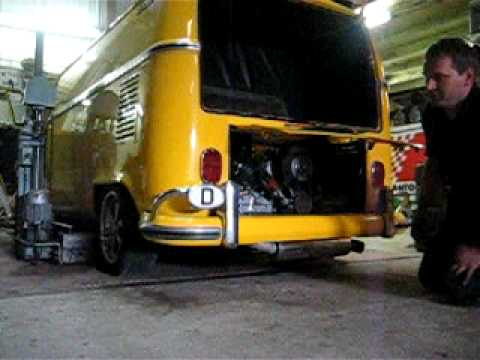 porsche 6 cylinder in VW Bus T1