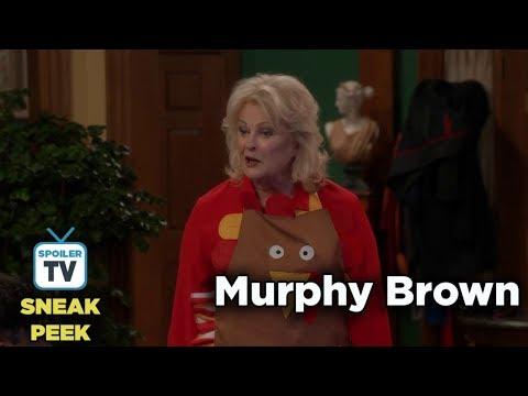 """Murphy Brown 11x09 Sneak Peek 1 """"Thanksgiving and Taking"""""""