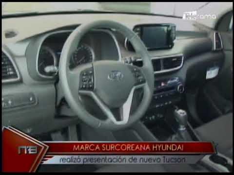 Marca Surcoreana Hyundai realizó presentación de nuevo Tucson