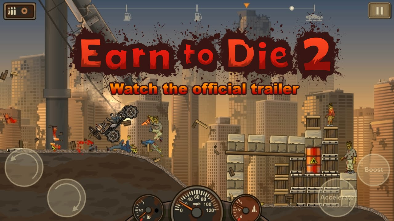 'Earn to Die 2' Releases This Thursday, Leaving More Dead Zombies in its Wake