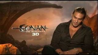 Nonton Jason Momoa Interview for CONAN THE BARBARIAN Film Subtitle Indonesia Streaming Movie Download