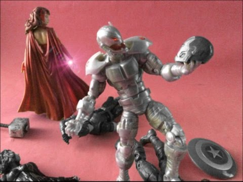Avengers Age Of Ultron Stop Motion 1/2