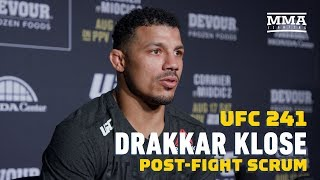 UFC 241: Drakkar Klose Calls Out Gregor Gillespie: 'No One Wants To Fight Him, I'll Fight Him' by MMA Fighting