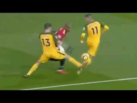 Manchester United Vs Brighton 1 0   All Goals  Highlights 25-11-2017 HD