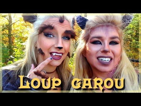 COSTUME | Loup Garou femelle | HALLOWEEN 2016 | Maquillage