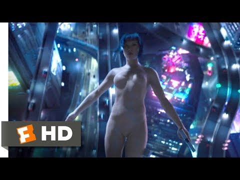 Ghost in the Shell (2017) - The Jump Scene (2/10) | Movieclips