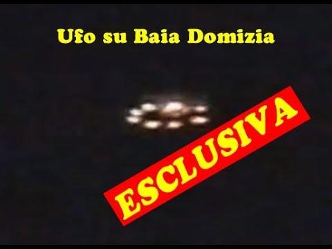 ufo, le immagini sul mare a baia domizia