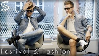 Men's hair and fashion inspiration: Festival season is here. In this video we have gathered awesome fashion and grooming essentials from must-haves to all-important accessories.We show you how to layer up, pack the ultimate festival back and how to style your hair like a festival pro, to make sure you always look your best.Shop online! http://www.SlikhaarShop.com Read more about festival fashion & grooming:⇨ Festival [2017] Style Guide for Men https://www.slikhaarshop.com/news/festival-2017-style-guide-for-men/⇨ Summer Festival Essentials [Men's grooming] https://www.slikhaarshop.com/news/summer-festival-essentials-mens-grooming/  Follow, like, share and more:⇨ Subscribe! http://bit.ly/SlikhaarTV⇨ Snapchat: SlikhaarTV⇨ Facebook: https://www.facebook.com/SlikhaarTVGroup⇨ Instagram: https://www.instagram.com/slikhaartv/⇨ Blog: http://www.slikhaarshop.com/news⇨ Newsletter: http://eepurl.com/B6Mqj Music: Daithi - Tribes -  Mary Keanes Introductionhttps://youtu.be/0vN-qz49JiI?t=1m5sOutfits:Denim jacketRipped, raw denim jeansDenim shortsCausal denim shirtLeader jacketBasic t-shirts in a loose fit Comfy shoesWhite, cult, classic trainersSneakersBootsCotton sweatshirtHoodieLayer up Accessories:SunglassesShadesHatCapBagsbackpack Basic essentials:Tooth brushSun protectionPerfumeRoll onFace wipesShampoo & conditioner  Products used:☆ By Vilain Travels Sizeshttps://www.slikhaarshop.com/by-vilain/ ☆ By Vilain Minishttps://www.slikhaarshop.com/by-vilain-minis-x-4/ ☆ By Vilain Free Stylerhttps://www.slikhaarshop.com/by-vilain-freestyler/ ☆ By Vilain Brushhttps://www.slikhaarshop.com/by-vilain-skeleton-brush/  Location: Slikhaar Studio - Mejlgade 37 Aarhus - Denmark Best regardsEmil & Rasmus Vilain AlbrechtsenSLIKHAAR TV TEAM Send all requests to: info@slikhaarshop.com Slikhaar TV is a hairstyling channel for men founded by the twin brothers Emil & Rasmus. We give you new hairstyle inspiration every week: Tutorials, how-to videos, celebrity and footballer hairstyles, and professional tips to optimize your hair and overall style.