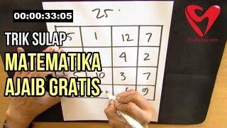 Trik Sulap Angka Matematika Ajaib - Magic Square Gratis Rahasianya Video