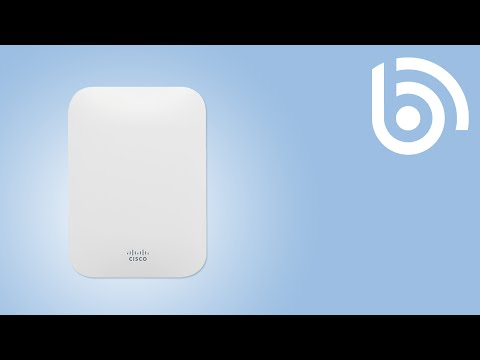 Cisco Meraki MR18 and MR26 Access points Video