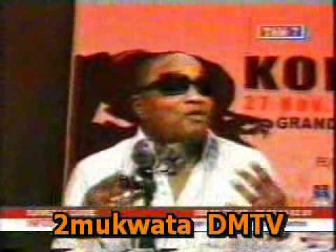 CONFERENCE de presse de Koffi Olomide 23 ans du QL ( 2 ) A PROPOS DE CINDY