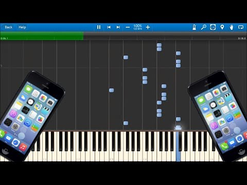 iPHONE RINGTONES IN SYNTHESIA!