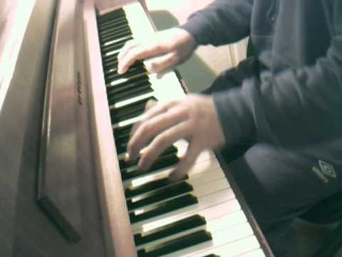 x Pict Story HD - Me playing the X Picture Story Sad Theme from the Sony Ericsson C902 on a piano.