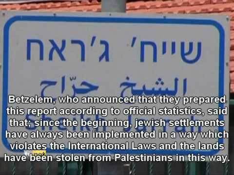 42% of Palestinian land is illegally occupied by Israeli settlers