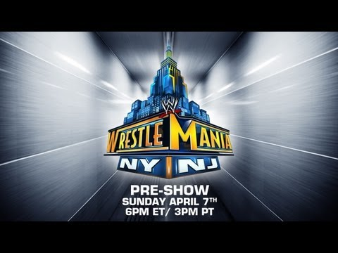 pre - Watch the WrestleMania Pre-Show this Sunday at 6pm ET / 3pm PT Get the Pay Per View now! http://ppv.wwe.com/?cid=ytwm2013ppv.