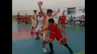 3x3 basketball with SAMCO's best players.