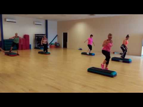 Muse Fitness Step Exercise to Music Instructor