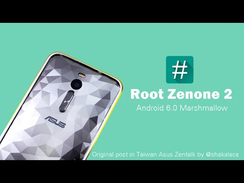 How to root Zenfone 2 Android 6.0 Marshmallow