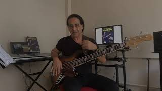 Bas Gitar Sağ El Çalma tekniği