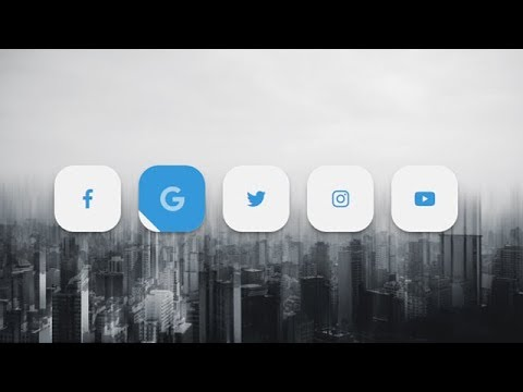Social Media Buttons With Amazing Animation On Hover Using Html & Css
