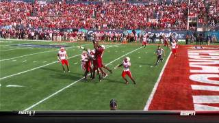 Alshon Jeffery vs Nebraska Capital One Bowl 2012