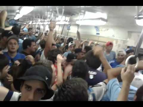 Video - Hinchada de Temperley en el tren roca... - Los Inmortales - Temperley - Argentina