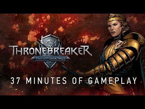37 minutes de gameplay de Thronebreaker : The Witcher Tales