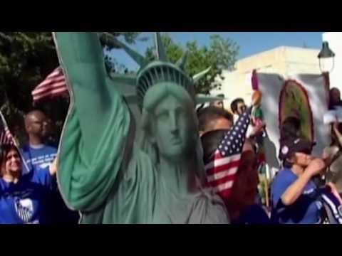 이민국, 외국인 사업자 체류 완화 8.5.16 KBS America News
