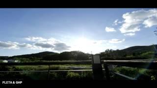 [FLETA MEDIA]2015 09 06 GHP TIME LAPSE  타임랩스로 촬영한 푸른 가을하늘 지나가는 구름