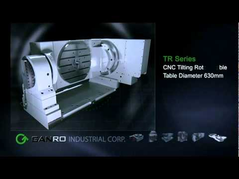 Rotary Tables - GANRO Video - CNC Indexers