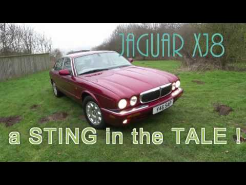 Jaguar XJ8 -  A Sting In The Tale !