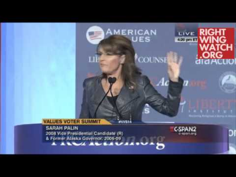 palin - http://www.rightwingwatch.org/content/sarah-palin-brings-america-together-giving-obama-latte-salute Right Wing Watch reports on the extreme rhetoric and activities of key right-wing figures...