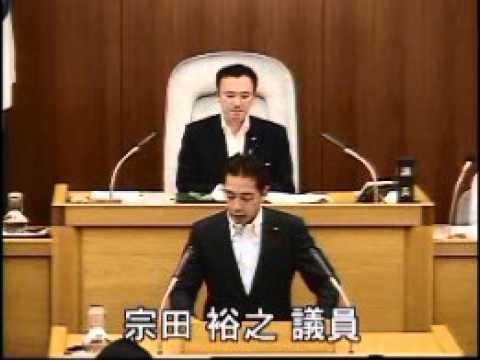 2105年第3回川崎市議会での代表討論(動画)