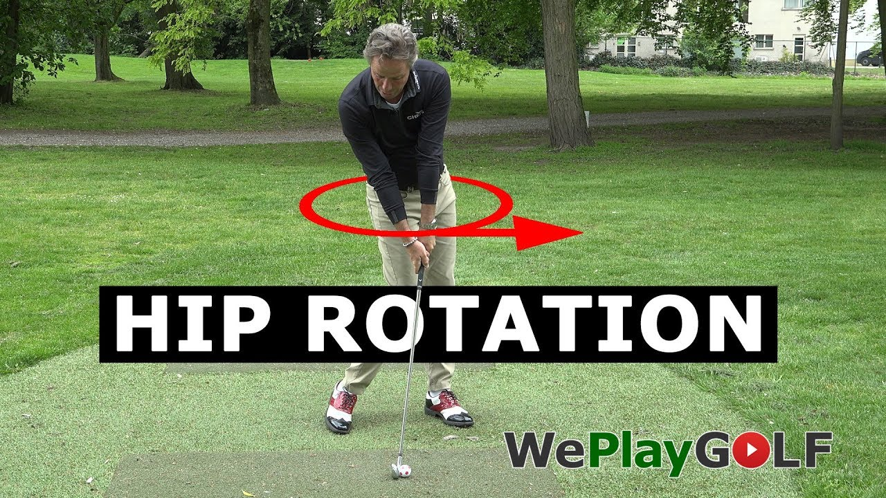 This is how you get perfect hip rotation through impact in your golf swing