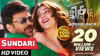 Nonton Sundari Full Video Song   Khaidi No 150   Chiranjeevi Kajal Aggarwal   Rockstar Dsp Film Subtitle Indonesia Streaming Movie Download