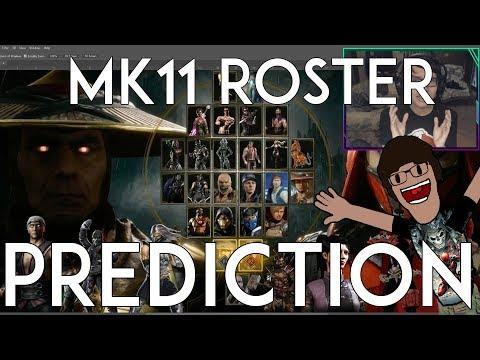 My Mortal Kombat 11 Roster Prediction