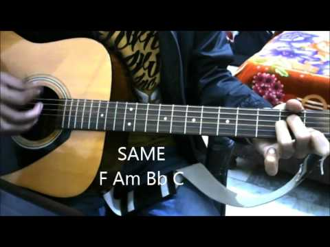 Tune Mere Jaana Kabhi Nahi Jaana – Emptiness – Complete Intro Tabs Guitar lesson chords beginners