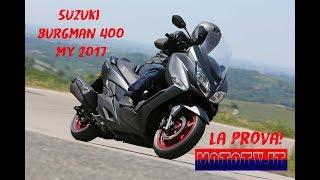 6. Suzuki Burgman 400 ABS my 2017