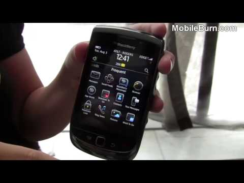 RIM BlackBerry Torch 9800 demo