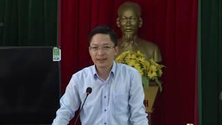 Đồng chí Phạm Lê Hưng, Phó Bí thư Huyện ủy thăm, làm việc tại xã Sơn Dương