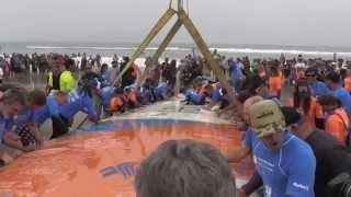 Du surf à 66 sur une planche : c'est le record du monde