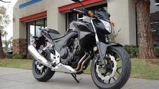 1. 2014 Honda CB500F
