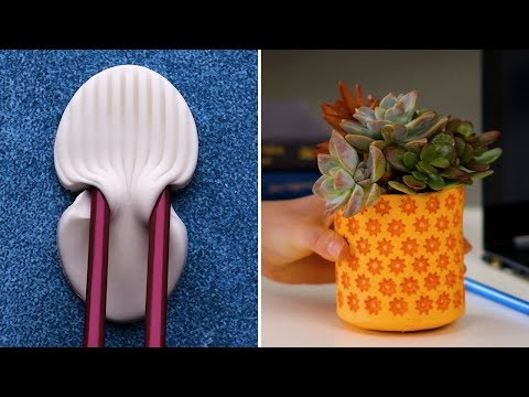 24 DIY Craft Hacks Using Household Objects! | Easy To Make Art And Accessories By Blossom