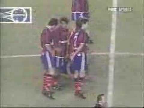 Final de la Copa Mercosur 2002 en el estadio Pedro Bidegain