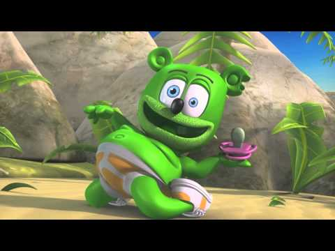 Gummibär Dances To New Song -- Gummibär: The Yummy Gummy Search For Santa (11/06/12) -- Clip 4